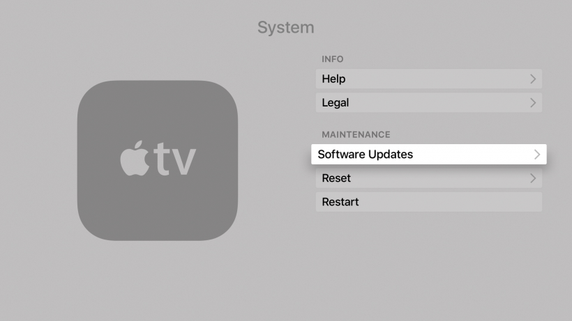How can I update tvOS on the Apple TV? | The iPhone FAQ