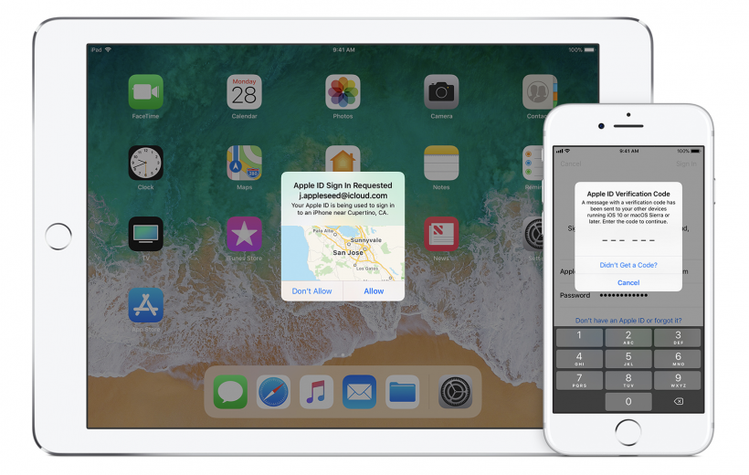 How to enable two factor authentication (2FA) for Apple ID on iPhone and iPod.