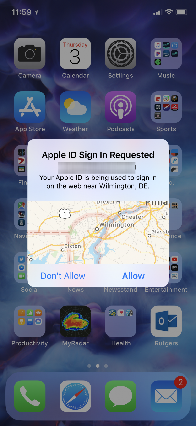 How to turn on two factor authentication (2FA) for Apple ID on iPhone and iPod.