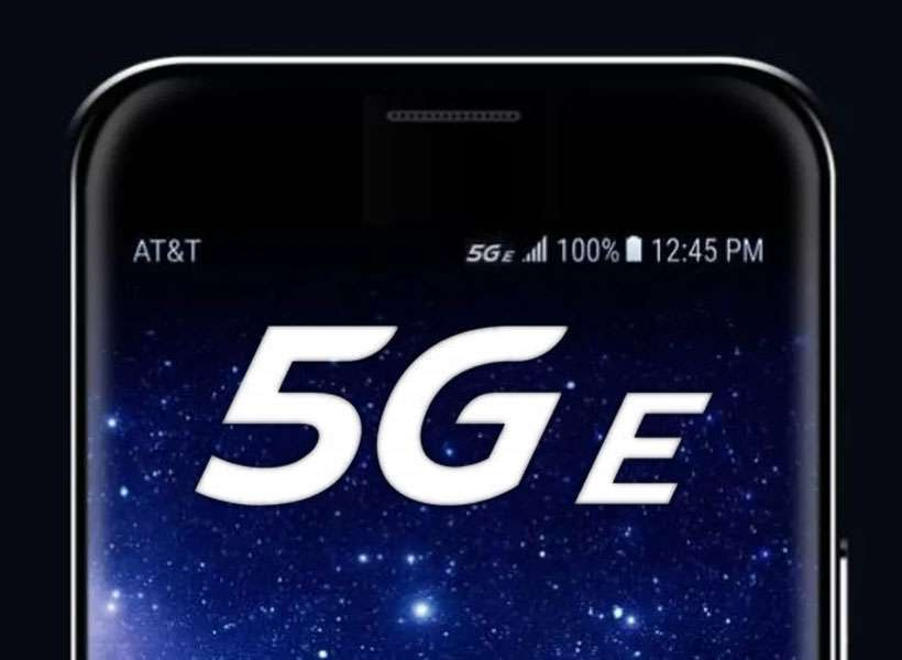 AT&T 5G Evolution label