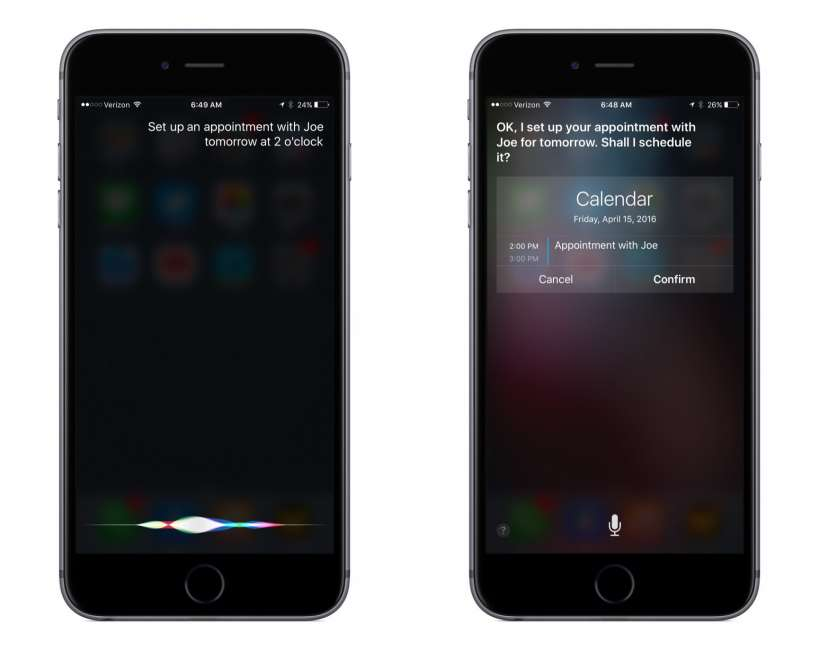 Manage your Calendar with Siri