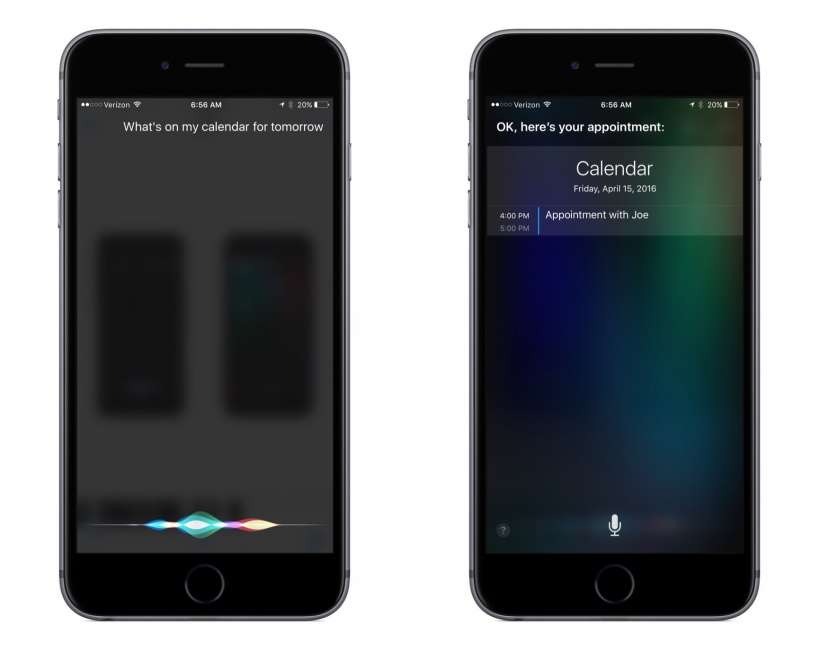 How to view and check your Calendar with Siri