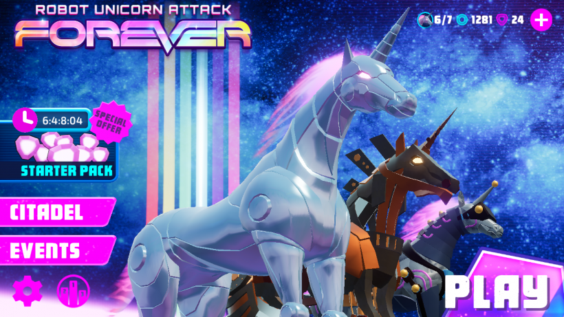 iOS App of the Week: Robot Unicorn Attack 3 | The iPhone FAQ