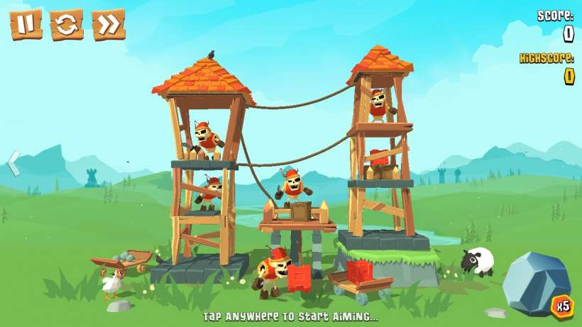 iphone games like crush the castle