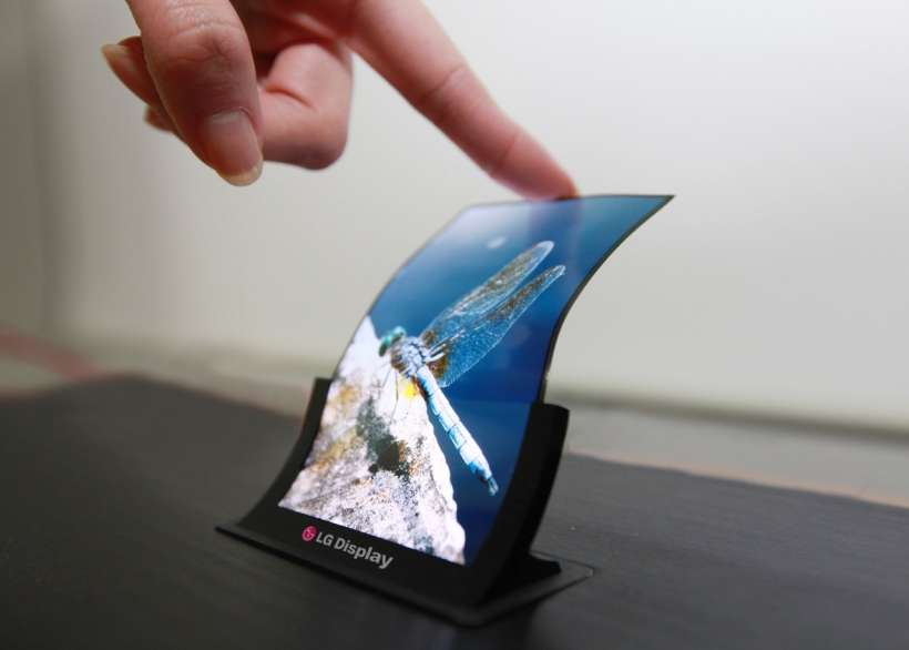 LG flexible AMOLED