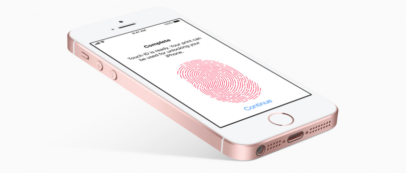 iPhone SE Touch ID