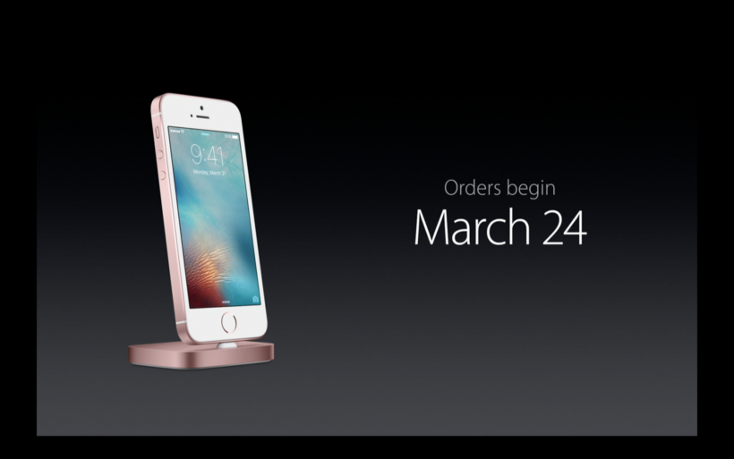 iPhone SE pre-order