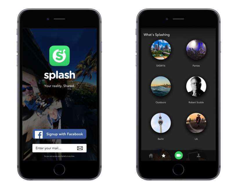 Splash 360 Video Camera iOS