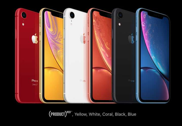 iPhone XR colorway