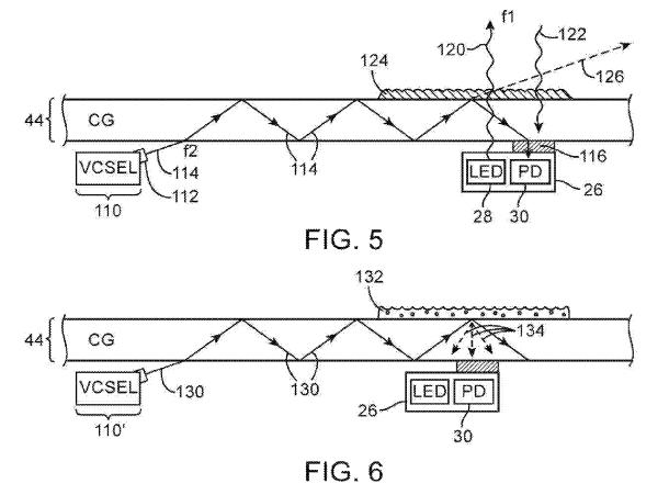smudge detection patent