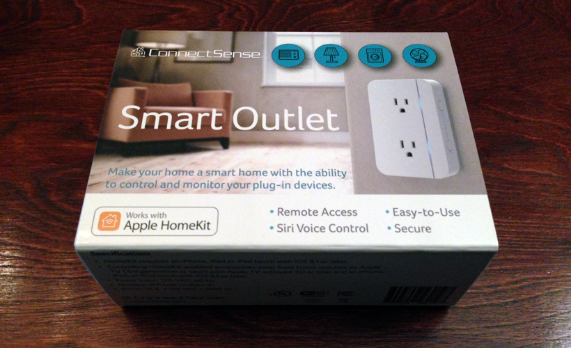 ConnectSense Smart Outlet box