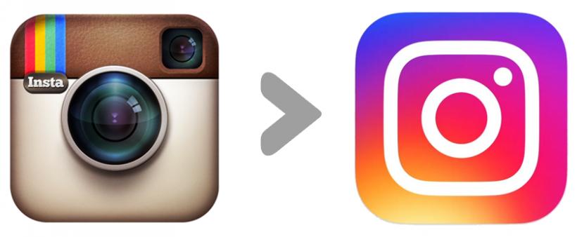 Instagram 8.0 flat redesigned icon