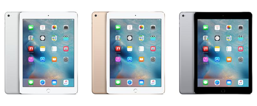 iPad 3 colors