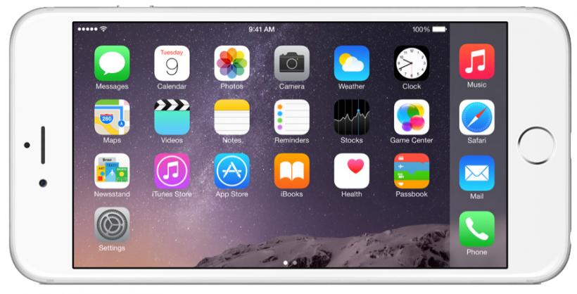iPhone 6 Plus iOS 9