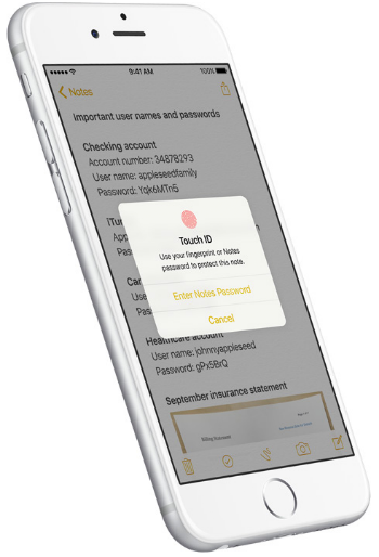 How to lock your notes in iOS 9.3.