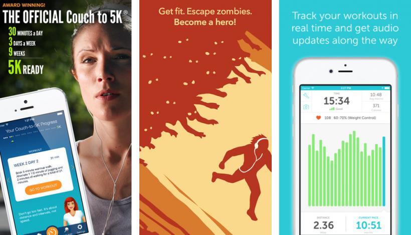 iOS Running Apps