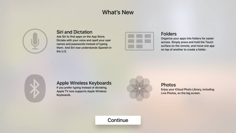 tvOS 9.2 new features