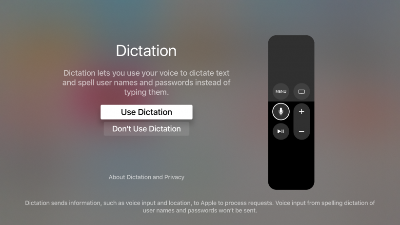 apple tv 4 remote instructions