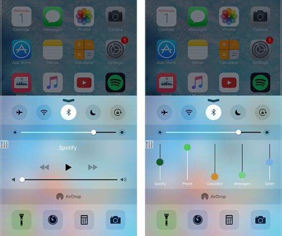 VolumePanel iOS tweak