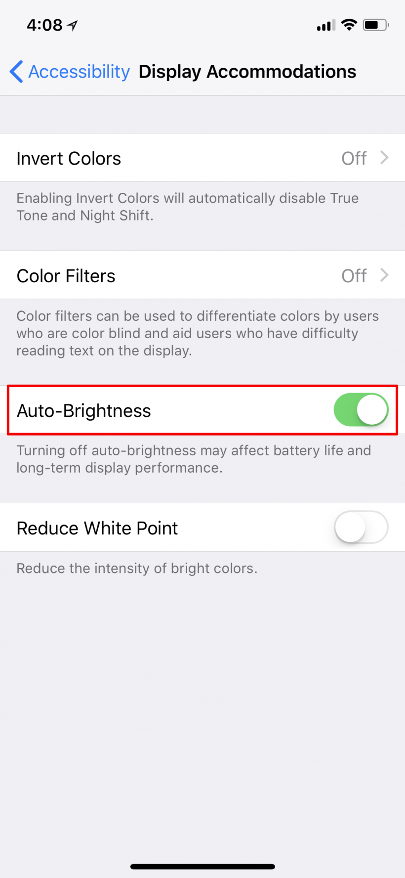 How to turn Auto-Brightness on or off in iOS 11 on iPhone and iPad.
