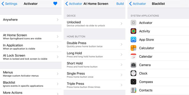 Activator iOS 9
