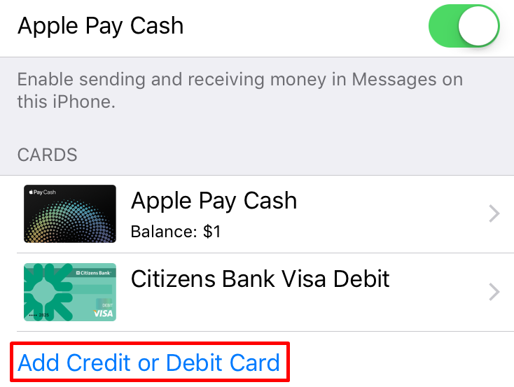 add card apple pay cash - Add Money To Prepaid Card With Checking Account