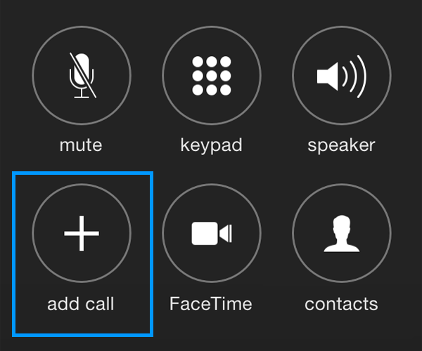 how to do 3 way calling on iphone how can i make a conference call three way call on my 20795