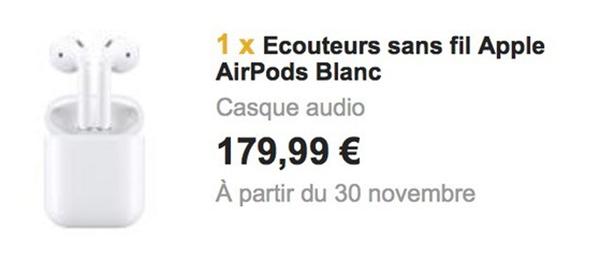 AirPods November 30