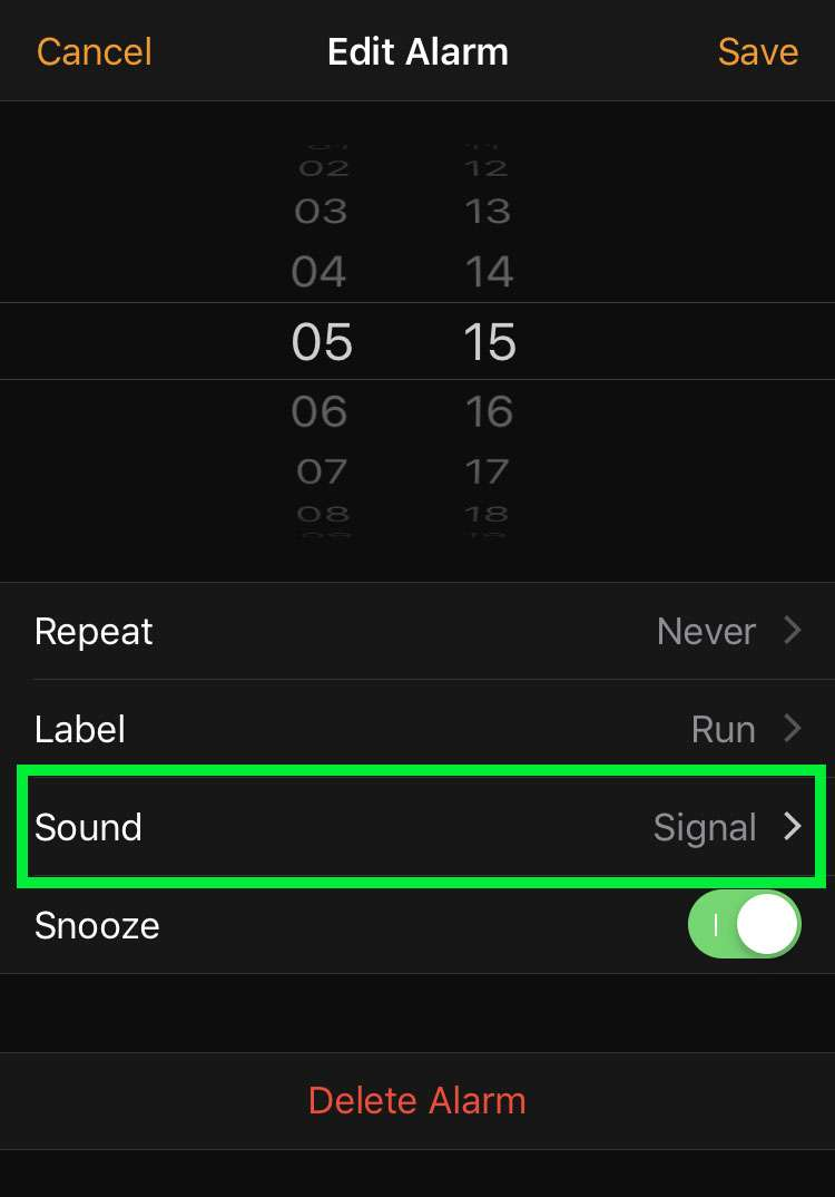 Stop iPhone alarm from vibrating