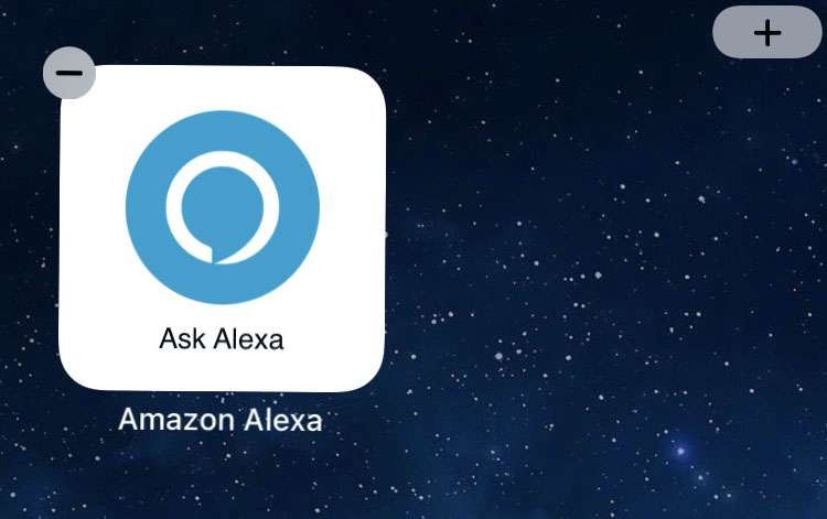Amazon Alexa widget