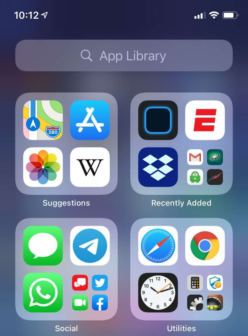 How to show red badge notifications on apps in the App Library on iPhone and iPad.