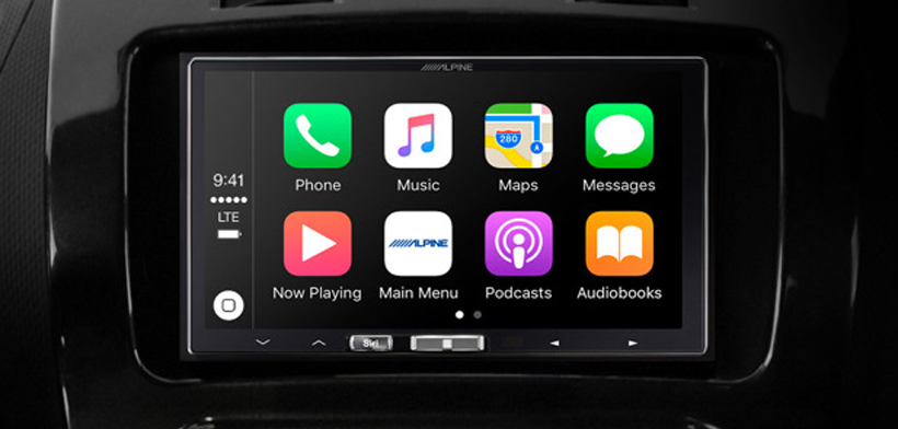 Alpine iLX-107 wireless CarPlay