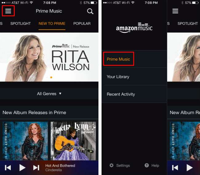 How to listen to Amazon Prime Music on iPhone.