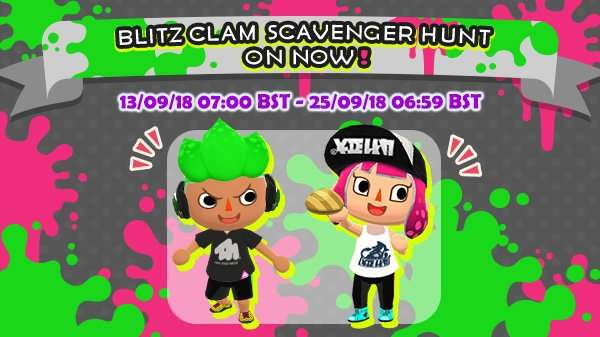 The Blitz Clam Scavenger Hunt