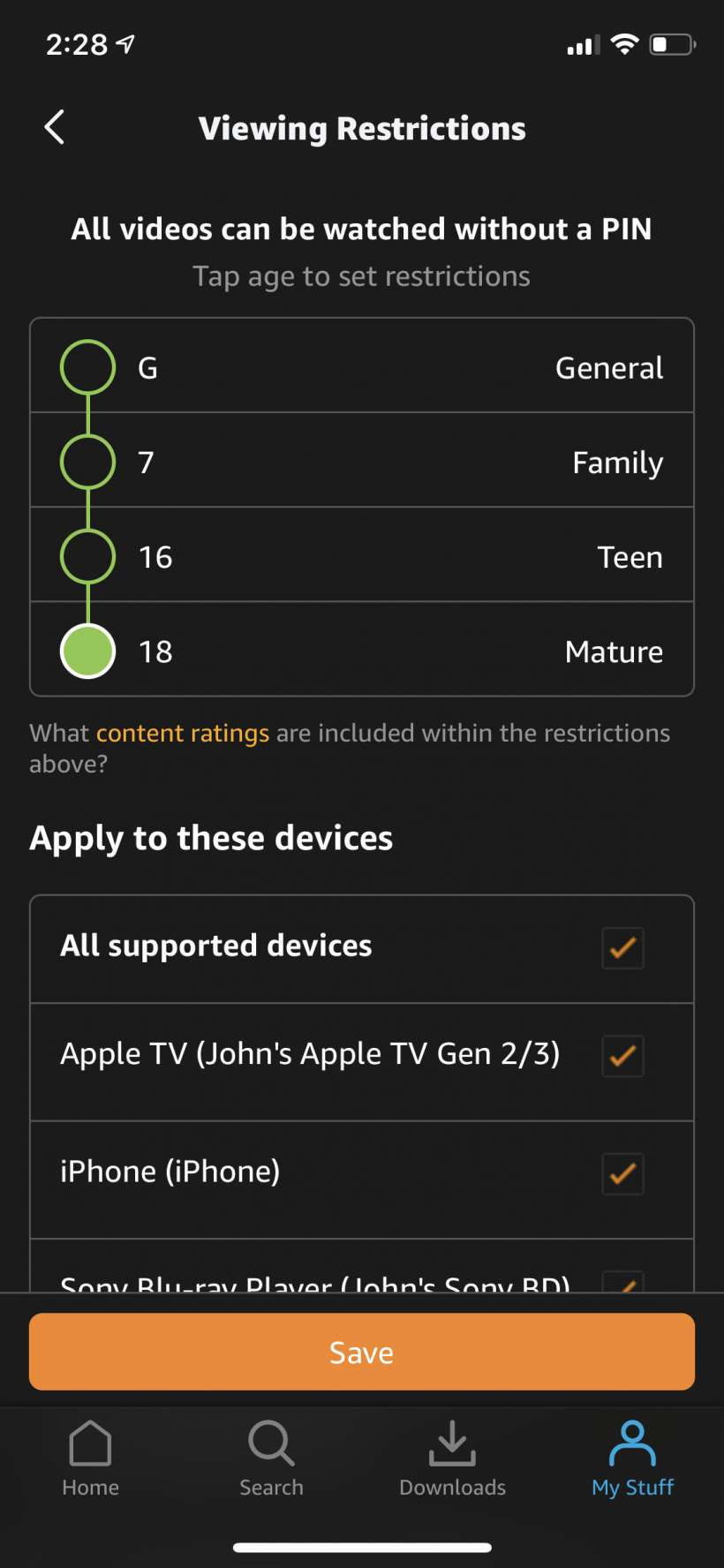 How to block adult or mature content on Amazon Prime Video on iPhone and iPad.