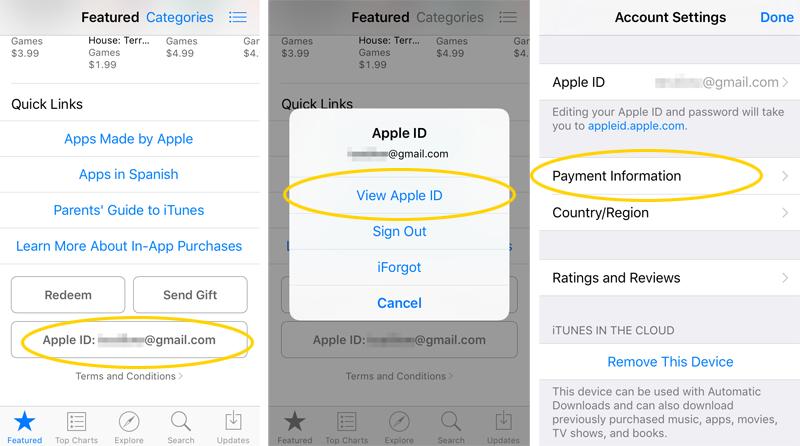 iOS 9 carrier billing