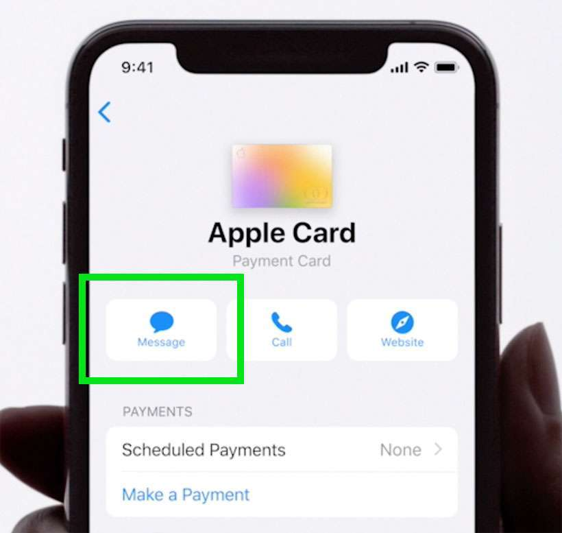 Apple Card report fraud