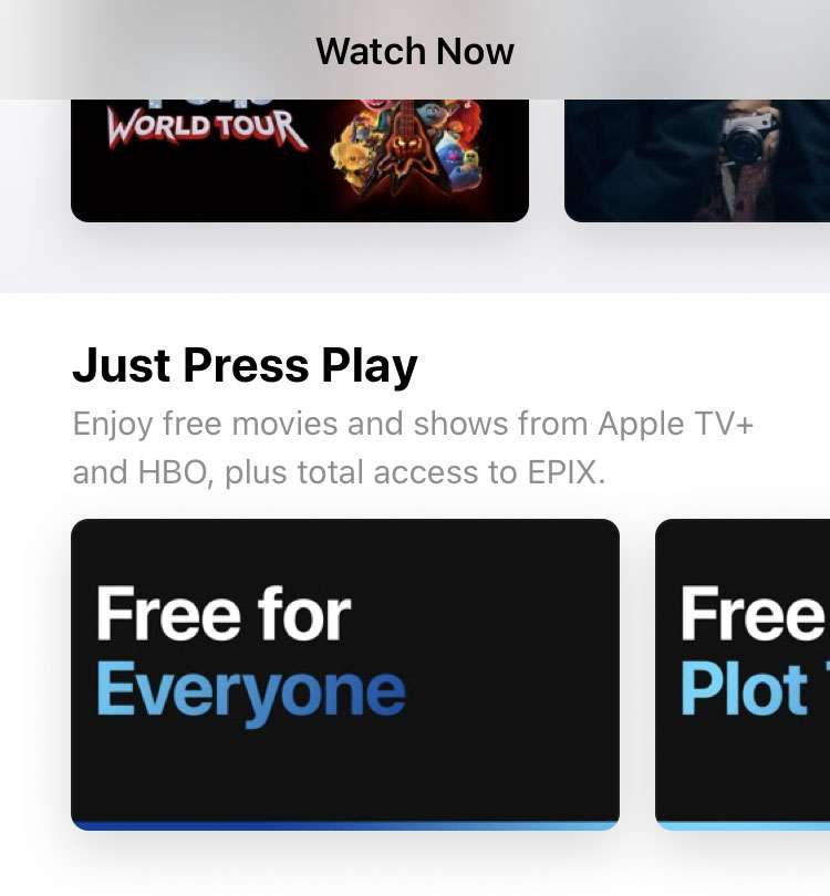 Apple TV app Free for Everyone Apple TV+