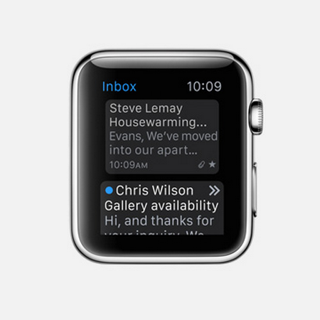 Apple Watch Mail App