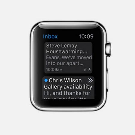 Apple Watch Mail App