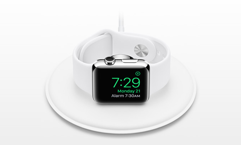 Apple Watch alarm clock