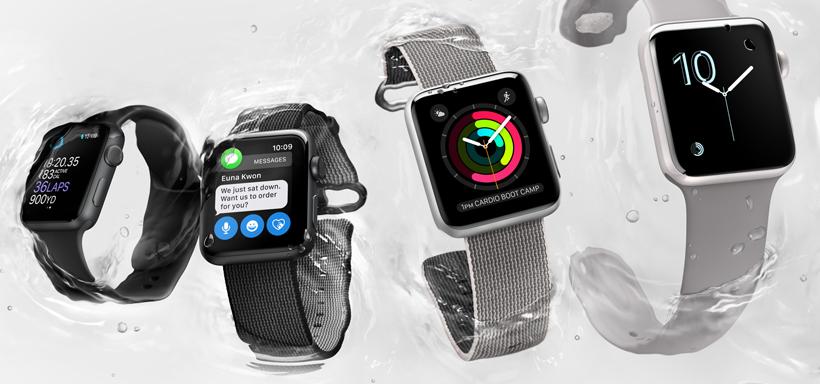 Apple Watch Series 2 water 50m