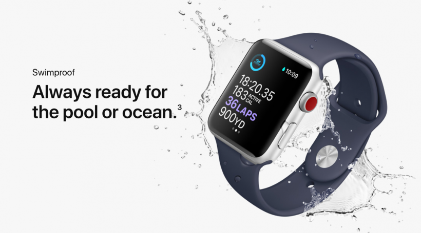Apple watches waterproof телефон samsung u 2 мегапикселя