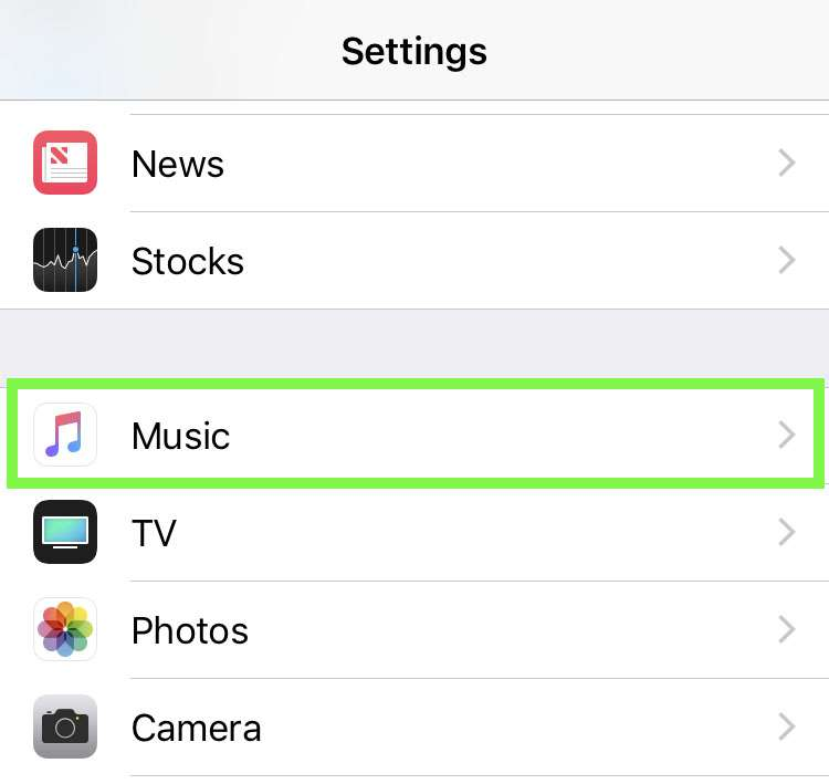 Apple Music automatic downloads on iPhone