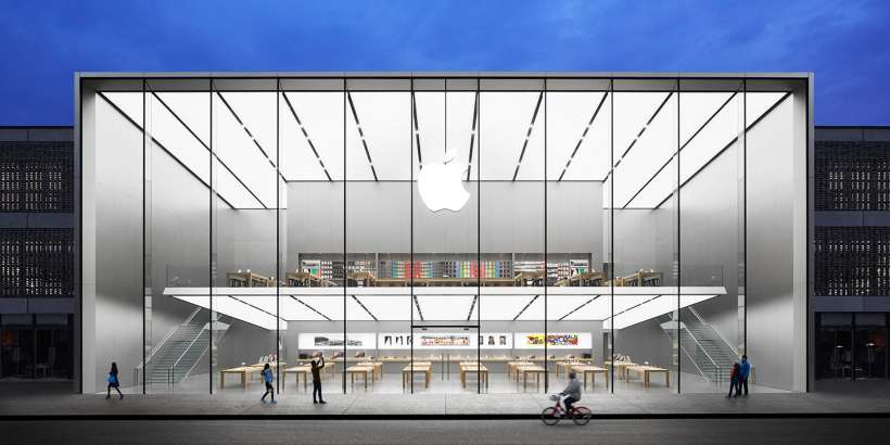 Apple Store in Huangzhou, China.
