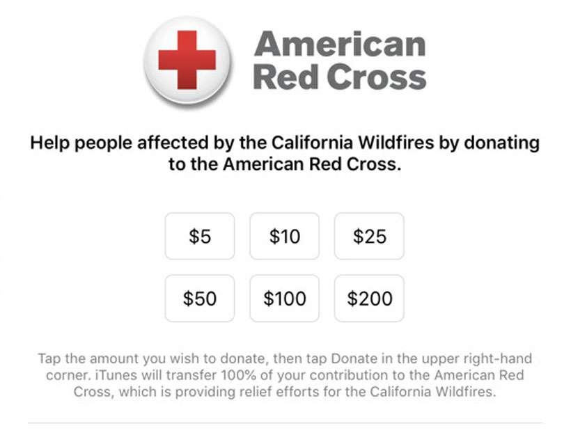 iTunes American Red Cross