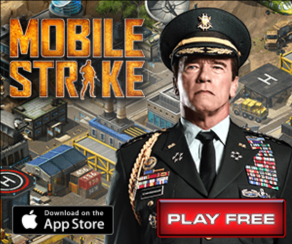 Mobile Strike Game on Android Mobile Devices