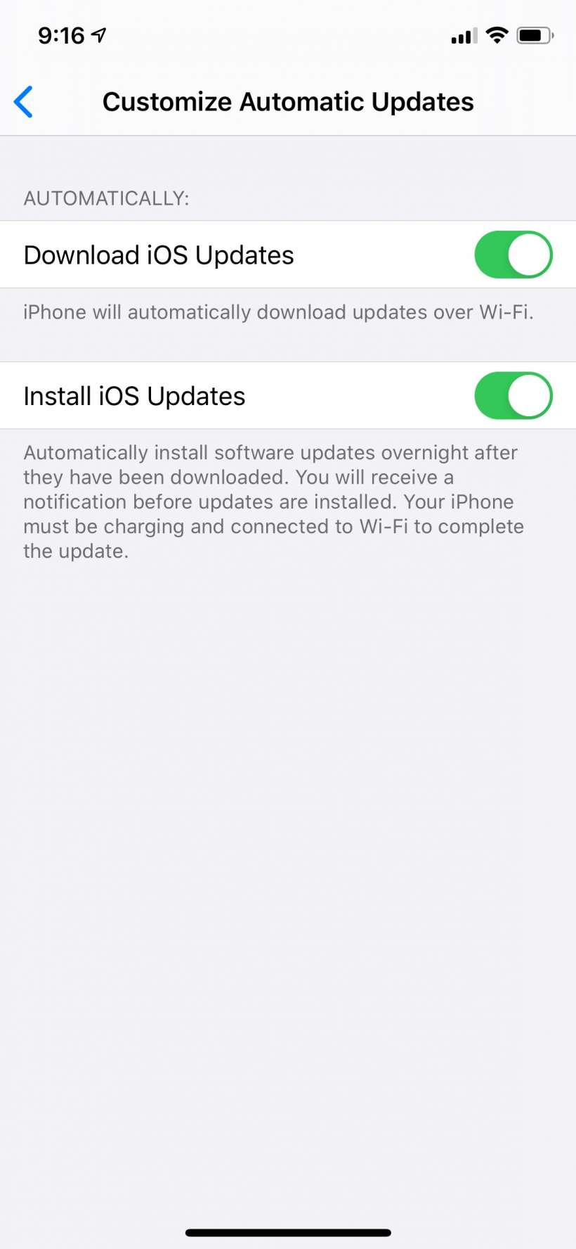 How to customize your automatic iOS updates on iPhone and iPad.