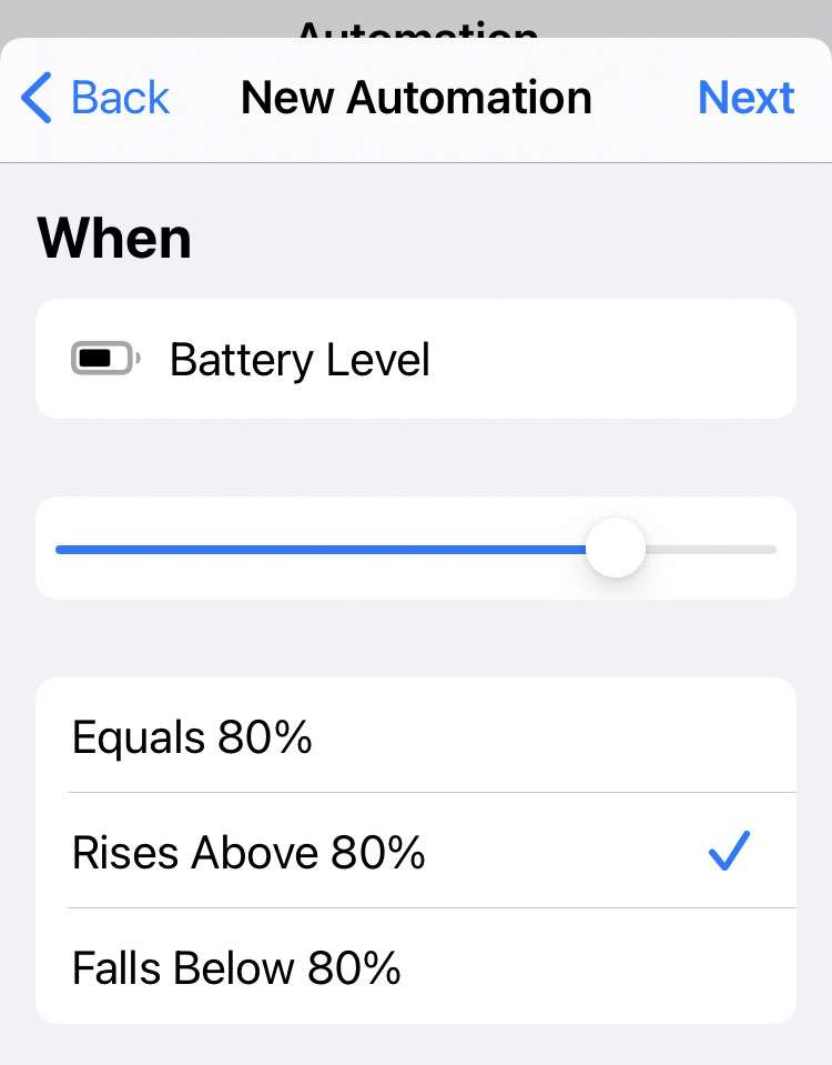 Battery charged alert 3