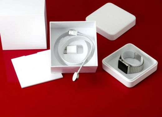 Apple watch unboxed.
